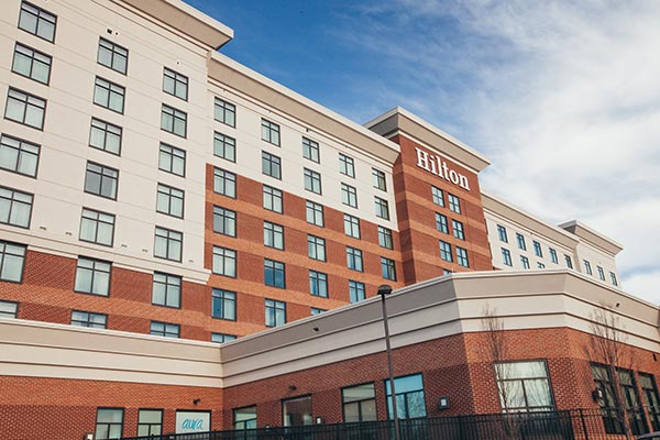Richmond Hilton Garden Inn James River Exteriors